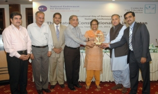 CCEP presents Civic Courage Award to Asma Jahangir