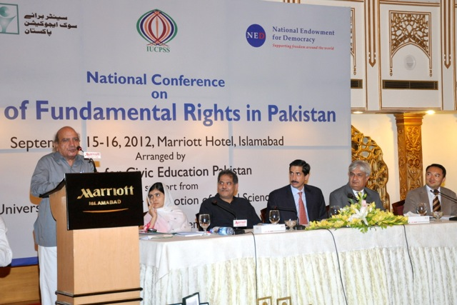 National Conference on State of Fundamental Rights in Pakistan